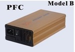 300W <br> 24V 8A, 48V 5A <br> Model B <br> Lithium or Lead-Acid Intelligent Battery Charger