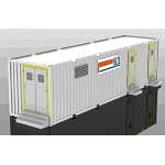 Up to 1MWH 40ft Container <br> 350KWH per 20ft Container